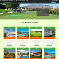 Golf Breaks in Spain